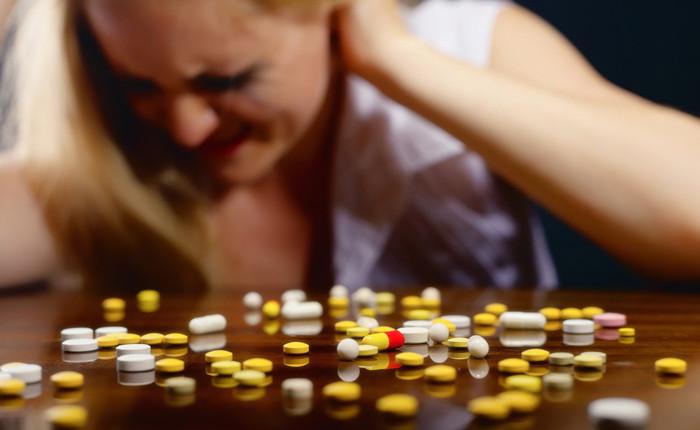Tabletten gegen Kopfschmerzen